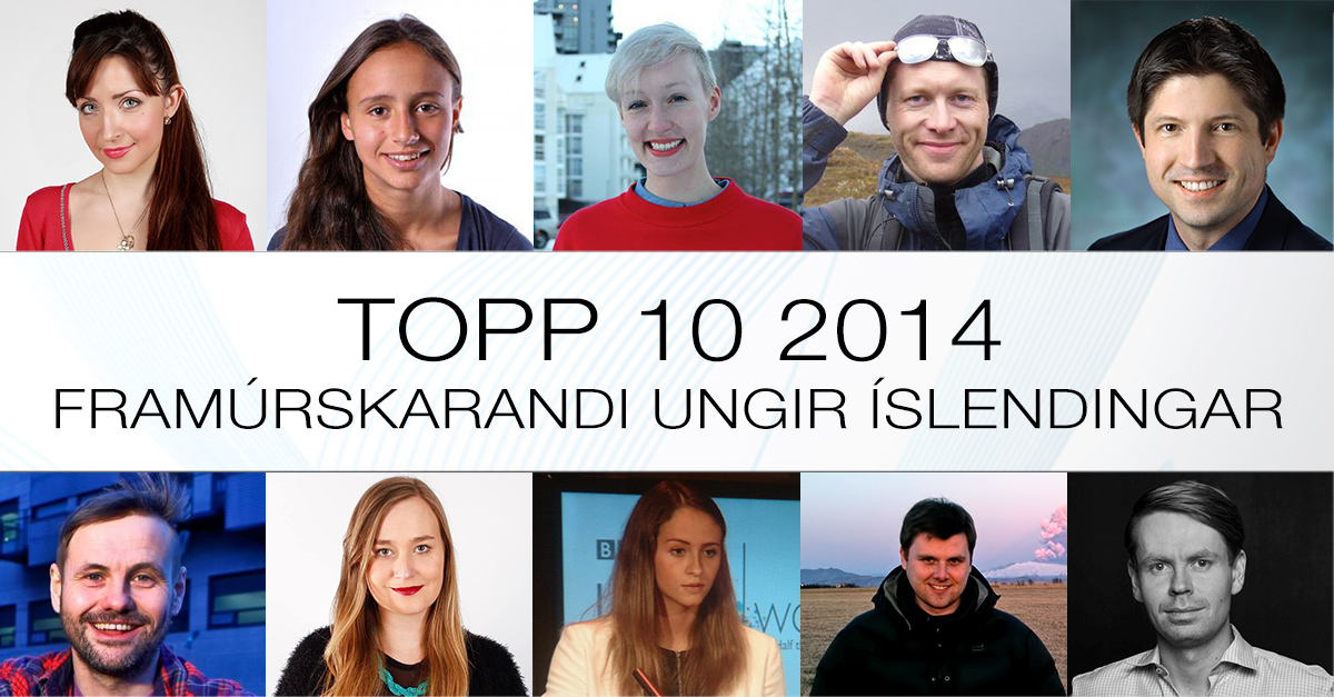 Top 10 listinn 2014